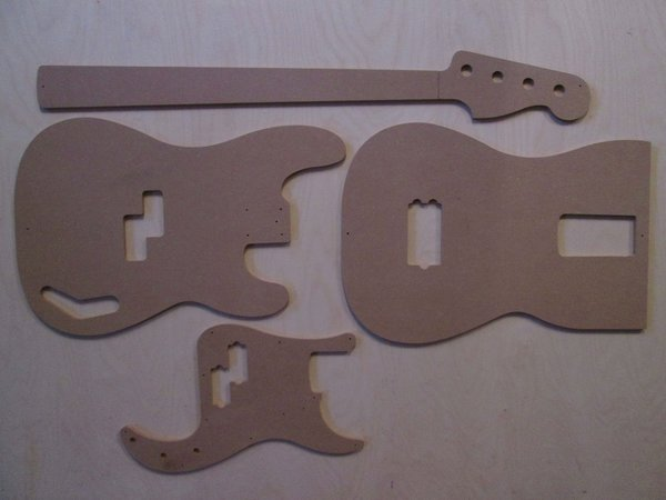 Fender Precision Bass Schablone template